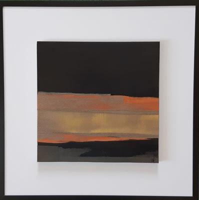 """Série """" les carrés"""" n°3 . Art contemporain, marqueterie . 400€"""