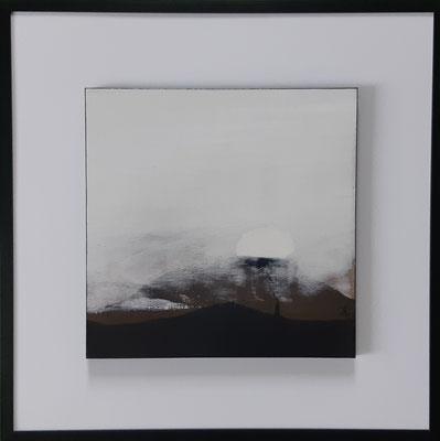 """Série """" les carrés"""" n°6 . Art contemporain, marqueterie . 400€"""