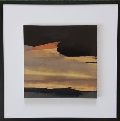 """Série """" les carrés"""" n°7 . Art contemporain, marqueterie . 400€"""