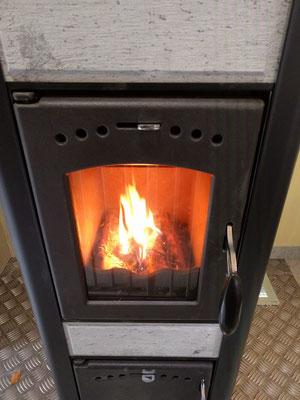 Unser warmer Ofen