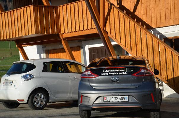 E-Autos fahren abgasfrei, leise und sportlich. Und es gibt keine Benzinrechnung mehr!