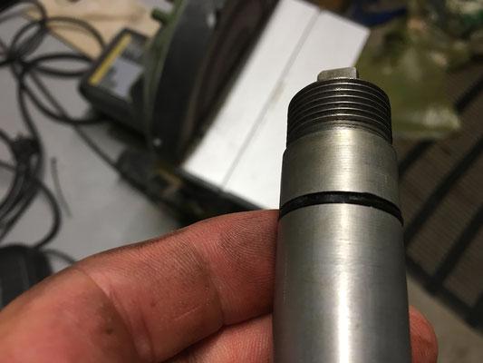 tachoantriebsritzel differential vorne-defekter o ring