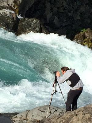 der fotograf an seinen grenzen