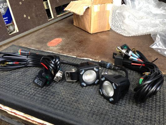 montage zusatzscheinwerfer. Vision-X Solstice Solo 1100 LED