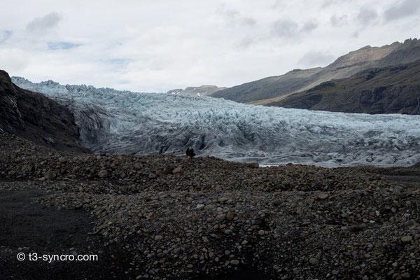 gletscherzunge des vatnajökull