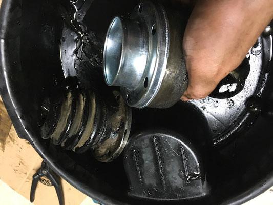 metallflansch für silikonmanschette