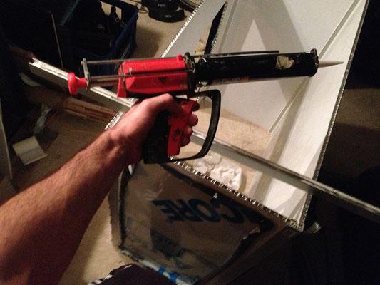 nach 4 zerstörten pistolen endlich an eine richtige pistole gekommen. danke hans fürs leihen