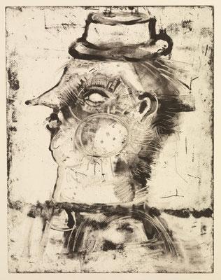 O.T, 2013, Monotypie, 51 x 39 cm