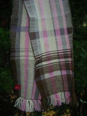 Schal – Wolle – Köpervariationen