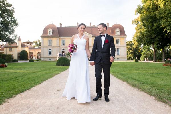 Nathalie / Août 2016 - Ludivine Guillot, robe de mariée sur mesure à Lyon.