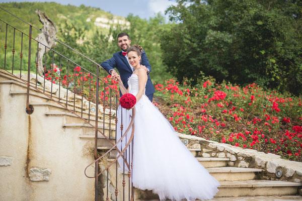 Aurore / Septembre 2017 - Ludivine Guillot, robe de mariée sur mesure à Lyon.