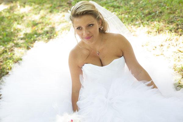 Mélanie / Sept. 2012 - Ludivine Guillot, robe de mariée sur mesure à Lyon.