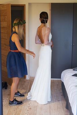 Claire / Juin 2017 - Ludivine Guillot, robe de mariée sur mesure à Lyon.