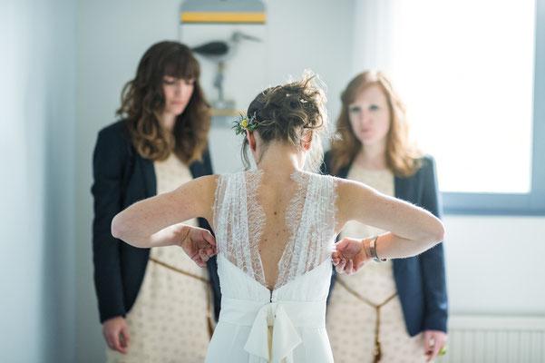 Chloé / Avril 2016 - Ludivine Guillot, robe de mariée sur mesure à Lyon.