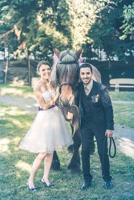 Annabelle / Août 2016 - Ludivine Guillot, robe de mariée sur mesure à Lyon.