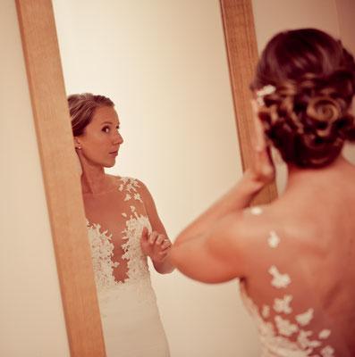 Charlotte / Juillet 2016 - Ludivine Guillot, robe de mariée sur mesure à Lyon.