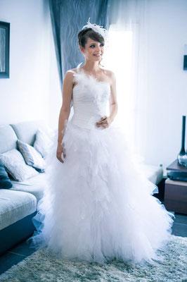 Anita / Juil. 2015 - Ludivine Guillot, robe de mariée sur mesure à Lyon.