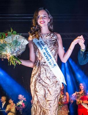 Maeva Durand - 1e Dauphine Miss Rhône-Alpes 2017