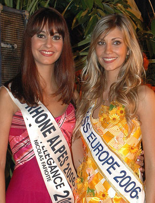 Alexandra Rosenfeld, Miss France 2006, Miss Europe 2006