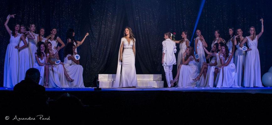 Réalisation des robes des 20 candidates lors de l'élection de Miss Rhône-Alpes 2017