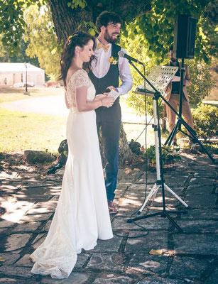 Emilie / Septembre 2016 - Ludivine Guillot, robe de mariée sur mesure à Lyon.