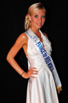Virginie Dechenaud, 1e Dauphine Miss France 2010 - Préparation Miss Monde - Miss Rhone-Alpes