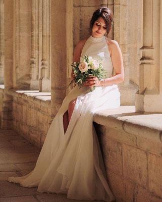 Anaëlle / Juin 2019 - Ludivine Guillot, robe de mariée sur mesure à Lyon.