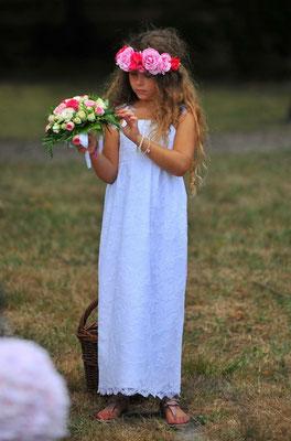 Charlène / Juil. 2015 - Ludivine Guillot, robe de mariée sur mesure à Lyon.