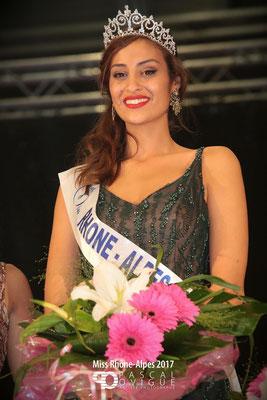 Dalida Benaoudia - Miss Rhône-Alpes 2017