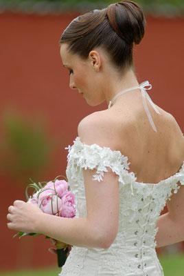 Audrey / 2009 - Ludivine Guillot, robe de mariée sur mesure à Lyon.