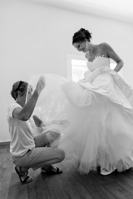 Julie / Juillet 2017 - Ludivine Guillot, robe de mariée sur mesure à Lyon.
