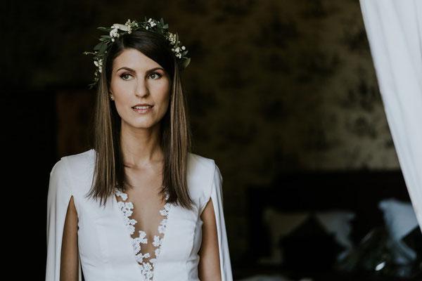 Marion / Oct. 2018 - Photos Vivien Malagnat - Ludivine Guillot, robe de mariée sur mesure à Lyon.