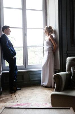 Emeline / Sept. 2015 - Ludivine Guillot, robe de mariée sur mesure à Lyon.