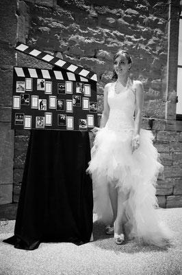 Audrey / Avril 2013 - Ludivine Guillot, robe de mariée sur mesure à Lyon.