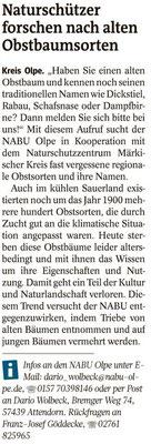 Westfalenpost, 13.11.2020