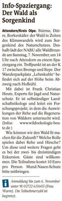 Westfalenpost, 21.10.2020