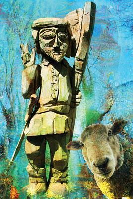 Fritz Joss und das Schaf