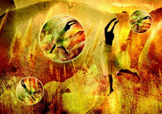 """Song of Ecstasy"", 100 x 70 cm, 850 €"