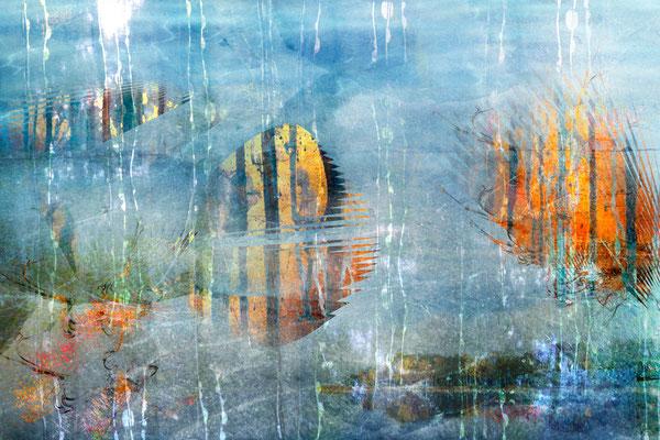 """""""Regentag"""", 75 x 50 cm, 330 €"""
