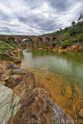 Puente sobre el rio Odiel  /  Bridge over Odiel river