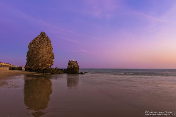 Atardecer junto a la torre del Loro  / Sunset next to the tower Loro