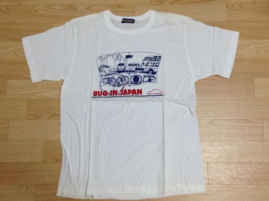 第四回記念Tシャツ(ビートルのメーターパネルデザイン)
