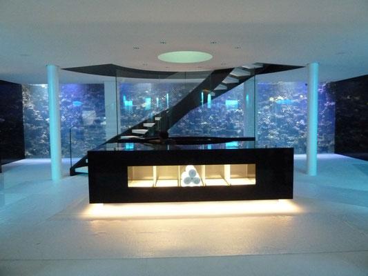 Park Hotel Vitznau, Lichtdesign: Manulux Lichtgestaltung, Angelika Dreher, Fotograf: RS Licht nach Mass AG