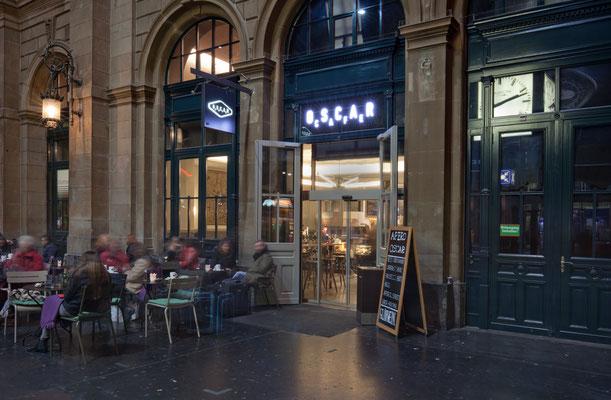 Oscar Cafe Zürich, Lichtplaner: Sommerlatte & Sommerlatte GmbH, Zürich