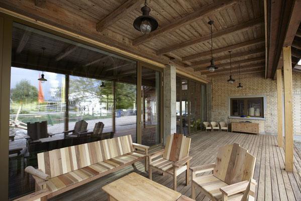 Agrovision Burgrain, Architekt: Pia M. Schmid Architektur & Designbüro, Zürich mit Christian Schwyter