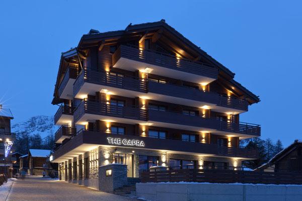 The Capra Saas-Fee, Lichtplaner Sommerlatte & Sommerlatte AG, Zürich