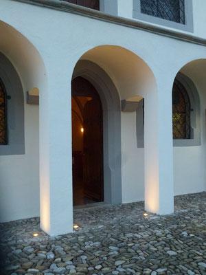 Michaelskapelle Schwyz, Lichtplaner/Lichtdesigner: Bruno Hartl Zürich