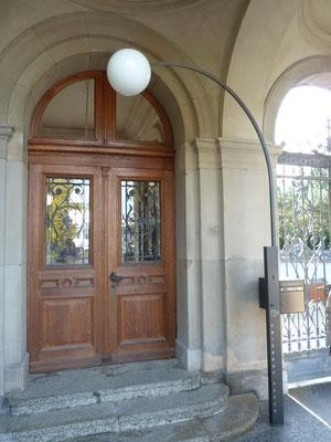 Friedhof Sihlfeld Zürich, Bauherr: Hochbauamt Zürich, Architekt: Bosshard Vaquer Architekten, Zürich