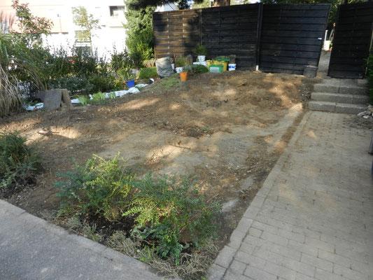 Baustellenabsicherung durch einen provisorischen Zaun