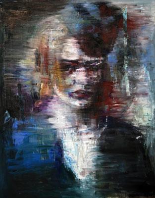 Decadence, oil on canvas, 162 x 130 cm, 2015
